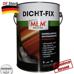 Mem Dicht-Fix 4 L Dauerelastische Dichtungsmasse dralon und carbonfaserverstärkt