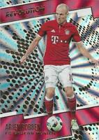 2017 Panini Revolution Soccer - Sunburst Parallel (Retail) - FC Bayern - 76-85