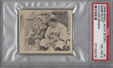 1948 SWELL STORY #1 BABE RUTH & WILLIAM BENDIX PSA VG/EX 4