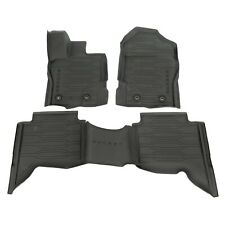 OEM NEW 2019 Ford Ranger CREW CAB All Weather TRAY STYLE Rubber Floor Mats Set
