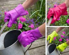 Gartenhandschuhe, wasserabweisend, Damengröße M (TOWN & COUNTRY AQUASURE Orchid)