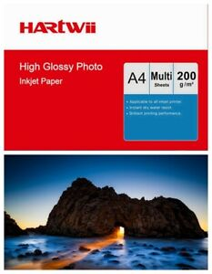 A4 Photo Paper Inkjet Paper High Glossy Super White 200Gsm All in One Machine