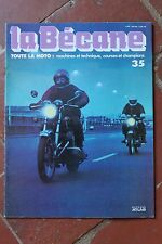 LA BECANE TOUTE LA MOTO EDITIONS ATLAS - N°35  1978
