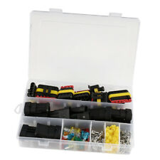 Waterproof Car Electrical Wire Plug Connector 1-6 Pin Way Blade Fuses Set
