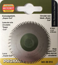 Proxxon Lame de scie circulaire tronçonneuses Super Cut 28014 / direct de RDGTOOLS
