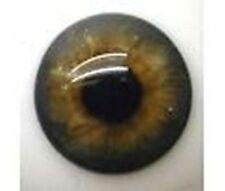 Blue Grey Brown #21 German Glass Eyes: Full Round - 20mm