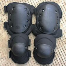 Airsoft Tactical Knee & Elbow Pads Set Protective Gear CS Combat Hunting Skate
