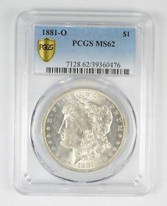 MS62 GRADED - 1881-O Morgan Silver Dollar- PCGS *690