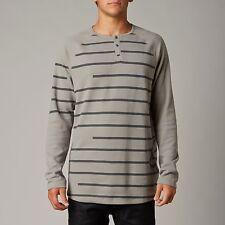 Fox Racing Blaise Long Sleeve L/S Thermal Shirt Grey (Large)