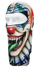 White Creepy Circus Clown Balaclava Face Mask Biker Helmet Liner Free Shipping