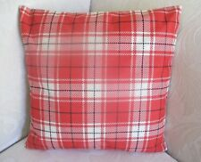 Scottish Tartan Scotland Cotton Blend  Green Cushion Cover 45cm FREEPOST