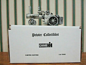 Case Steam Engine Pewter By SpecCast 1/43rd Scale