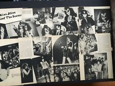 KISS Magazine Pinup's / Clippings Pages From a Variety Of Magazines