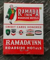 60's NOS RAMADA INNS (DX,Chevron,Sohio,Atlantic Richfield) MATCHBOOK Un-Struck