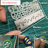 4pcs Drill Scribe Line Templates Ruler Details Craft Tools AJ0091 Alexen Model