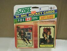 OLDER HOCKEY CARDS 1991- CANADIAN ENGLISH SERIES 1- PETER NEDVED- NEW- L136