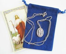 St. Blaise Saint Medal with 24 Inch Necklace