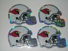 NFL ARIZONA CARDINALS STICKERS -  LOT OF 4 - NEW OLD STOCK