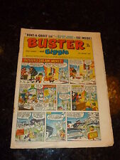 BUSTER & GIGGLE Comic - Date 18/01/1969 - UK Paper comic