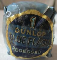 VINTAGE WRAPPED DUNLOP BLUE FLASH DIMPLE GOLF BALL