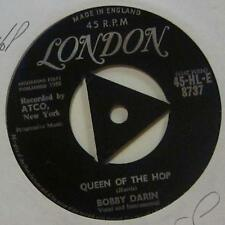 """Bobby Darin(7"""" Vinyl 1st Issue)Queen Of The Hop-London-HLE 8737-UK-Ex/VG+"""