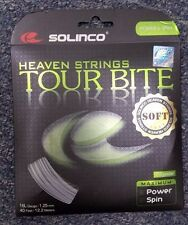 Solinco Tour Bite Soft 16L Gauge 1.25mm Tennis String NEW