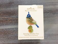 New ListingHallmark 2011 Partridge In A Pear Tree Twelve Days Keepsake Ornament