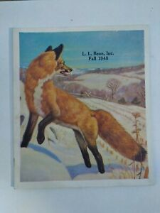 Vintage 1948 Fall Catalog by L.L. Bean of Freeport Maine, Outdoor Gear