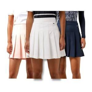 2021 J.Lindeberg Women Adina FW Golf Skirt Pale Pink X-Small NEW