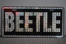 RETRO 1970'S PRISM BEETLE METAL LICENSE PLATE VW VOLKSWAGEN BUG