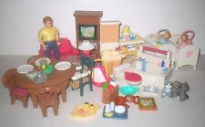 ***** Fisher Price Loving Family Dollhouse Lot TWIN BABIES Ages 3-6 *****