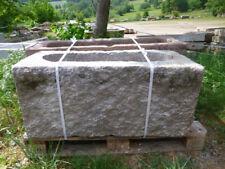 Granitwassergrand, Granittrog, Brunnen, Steintrog, Wassergrand, Granit