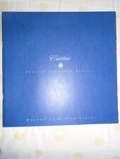 Cadillac Seville Eldorado Deville range brochure 1997 USA market