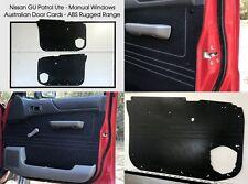 Nissan GU PATROL Waterproof, Rugged ABS Ute Manual Window Model Door Trim Panels