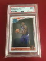 2018 Panini Donruss #157 DeAndre Ayton Suns Rated Rookie Card RC PSA 9 MINT