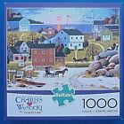 jigsaw puzzle 1000 pc Whaler's Bay Charles Wysocki Americana Buffalo Games