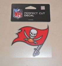 NFL TAMPA BAY BUCCANEERS  4 X 4 DIE-CUT DECAL OFFICIALLY LICENSED PRODUCT