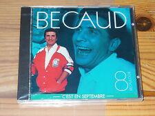 GILBERT BECAUD - BECAULOGIE 8 / FRANCE ALBUM-CD OVP! SEALED!