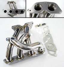 STAINLESS STEEL SPORT DECAT EXHAUST MANIFOLD FOR TOYOTA MR2 ROADSTER 1.8 00-07