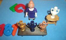 LOTE PLAYMOBIL, Playmobil Belen,ALDEANA,COMERCIANTE, ANFORAS, vendedor, lote 181