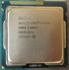Intel Core i7-3770 3.40GHz 8M Socket 1155 Quad-Core CPU Processor SR0PK