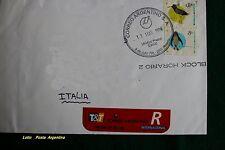 Francobolli Argentini con annullo postale