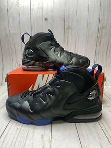 Nike Air Penny 3 Black Varsity Royal Blue Mens Size 9.5 Basketball CT2809 001