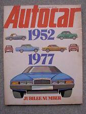 Autocar (28 May 1977) Jaguar XJS, BMW 7 series, Skoda Estelle, British F1 Racing