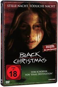DVD BLACK CHRISTMAS - STEELBOOK FSK 18 UNCUT vom Schöpfer von FINAL DESTINATION