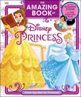 Amazing Book of Disney Princess, Hardcover by Rose, Eleanor, Brand New, Free ...