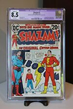 Shazam #1 CGC 8.5 - DC Comics 1973 - 1st App of Captain Marvel