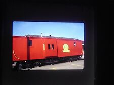 slide National Railroad Museum Green Bay Wisconsin passenger train Caboose red