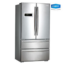 NEW Frost 705L Stainless French Door Fridge Dual Cooling 2019