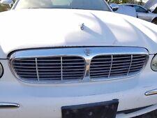 2004-2005-2006-2007 JAGUAR XJR XJ8 XJ8L VANDEN PLAS  FRONT CHROME GRILLE